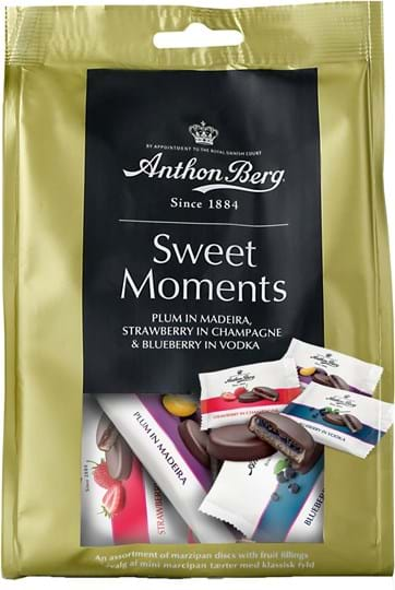Sweet Moments – frugt i marcipan 165g