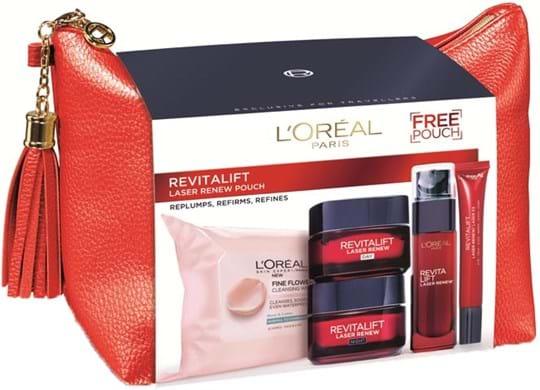 L'Oréal Paris Revitalift Laser Renew‑ansigtsplejesæt