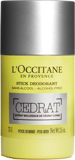 L'Occitane en Provence Men Cedrat Deodorant Stick 75 g