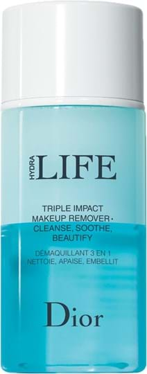 Dior Hydra Life Triple Impact-makeupfjerner til øjnene 125ml