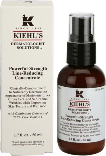 Kiehl's Dermatologist Solutions Powerful Strength Line reducing concentrate 50 ml