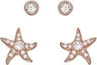 Swarovski, women's earring, size 1/0.5 CM