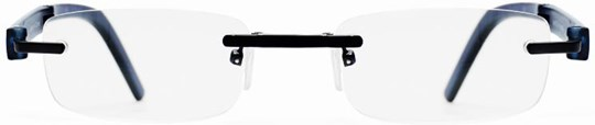 Z-Zoom Reading glasses with frame/temples colour Matt Night Blue Special feature: Folding, +2.50