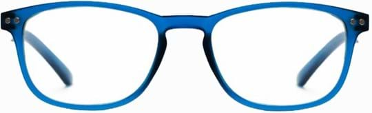 Z-Zoom Reading glasses with frame/temples colour Matt Frosted Bright Blue Special feature: Blue Light Filter, +0.00