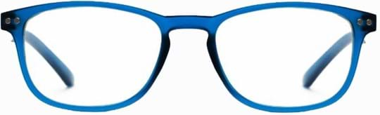 Z-Zoom Reading glasses with frame/temples colour Matt Frosted Bright Blue Special feature: Blue Light Filter, +1.00