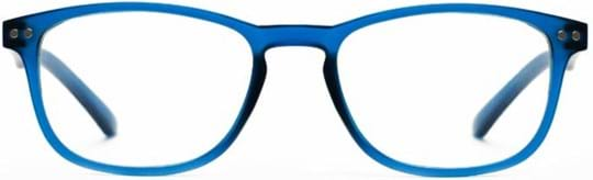 Z-Zoom Reading glasses with frame/temples colour Matt Frosted Bright Blue Special feature: Blue Light Filter, +1.50