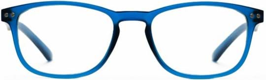 Z-Zoom Reading glasses with frame/temples colour Matt Frosted Bright Blue Special feature: Blue Light Filter, +2.00