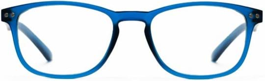 Z-Zoom Reading glasses with frame/temples colour Matt Frosted Bright Blue Special feature: Blue Light Filter, +2.50