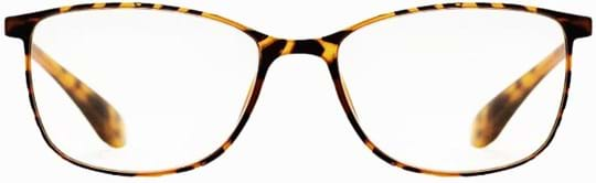 Z-Zoom Reading glasses with frame/temples colour Matt Brown Yellow Tortoise Special feature: TR90, +1.00