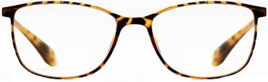 Z-Zoom Reading glasses with frame/temples colour Matt Brown Yellow Tortoise Special feature: TR90, +2.00