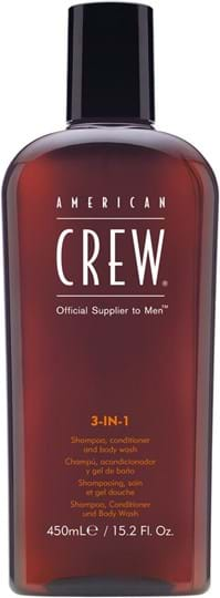 American Crew Hair&BodyCare Classic 3-in-1 (Shampoo, Conditioner and Body Wash) 450 ml