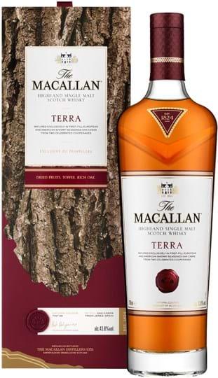 Macallan Terra 43,8% 0,7L, gaveæske