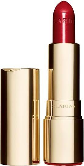 Clarins joli rouge brillant Lipstick N° 754 deep red