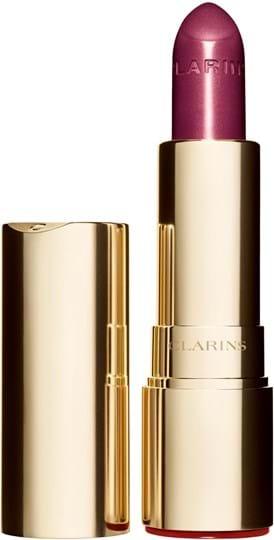 Clarins joli rouge brillant Lipstick N° 744 soft plum