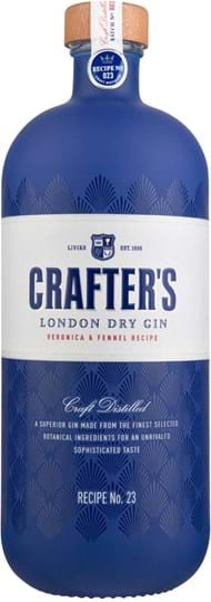 Crafter's London Dry Gin 43% 1L