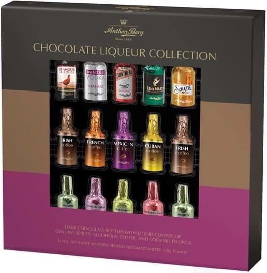 Anthon Berg – udvalg af chokoladelikør 21 stk. 328g