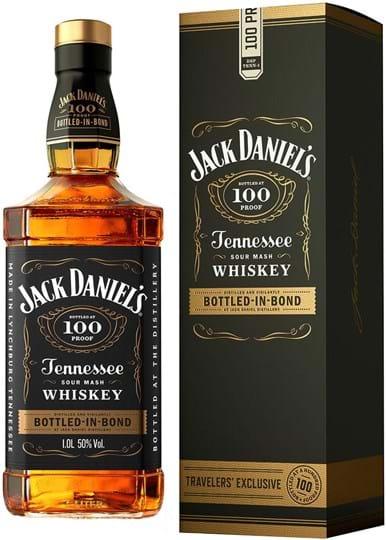 Jack Daniel's Bottled In Bond 50% 1L, gaveæske