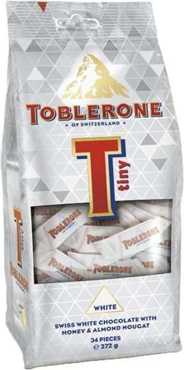 Toblerone Tiny White Bag 272g