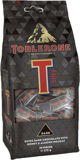 Toblerone Tiny Dark Bag 272g