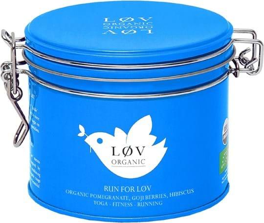Løv Organic – aromatiseret blanding med hibiscus og frugt 100g