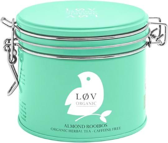 Løv Organic – urtete med mandelsmag 100g