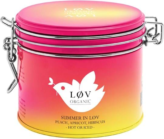 Lov Organic Blend of hibiscus and fruits, orchard fruits and watermelon flavourings - Organic