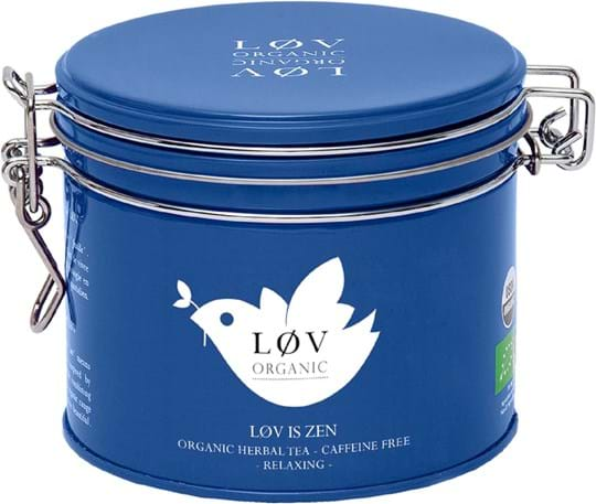 Lov Organic Orange and caramel flavoured blend of herbs and apple - Organic