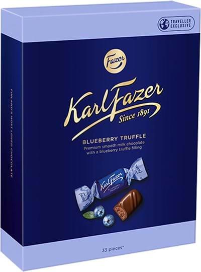 Karl Fazer Blueberry Truffle Box 250g