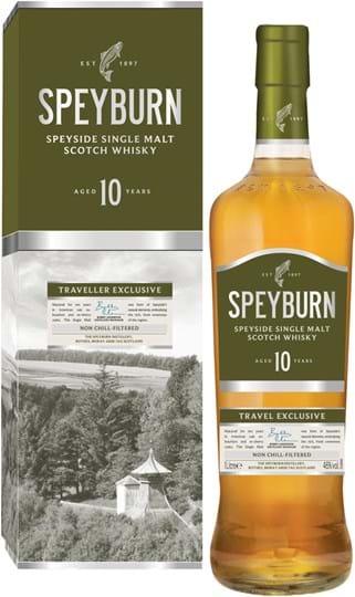 Speyburn 10y 46% 1L, rør