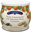 Kelsen Royal Dansk Globe tin - dark Choco & Orange peel 250g