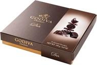 Godiva-pralinéer Connoisseur Dark 195g