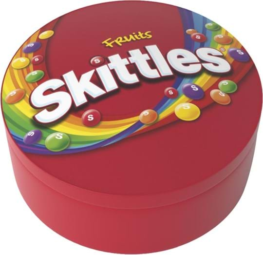Skittles sugar covered candy