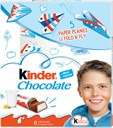 Kinder fine milk chocolate with a milky filling 100g