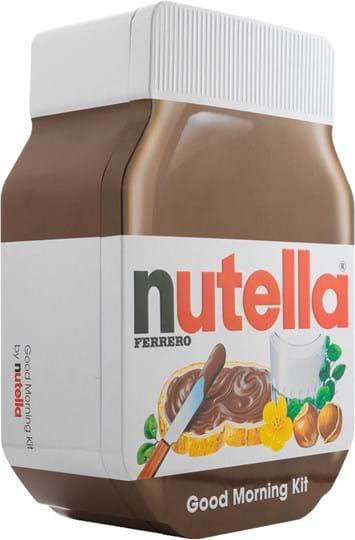 Nutella hazelnut spread with cocoa breakfast kit 180g