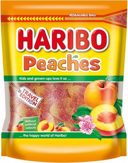 Haribo Pouch Haribo Peaches Pouch 750g