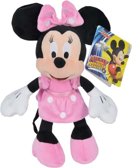 Disney MMCH Basic, 25cm: Experience great cuddling fun with Minnie. Made of cuddly soft plush. Suitable for children from the first months of life.