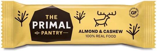 The Primal Pantry Almond & Cashew Bar. 100% REAL FOOD ingredients.