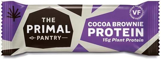 Primal Pantry Cocoa Brownie‑proteinbar 55g