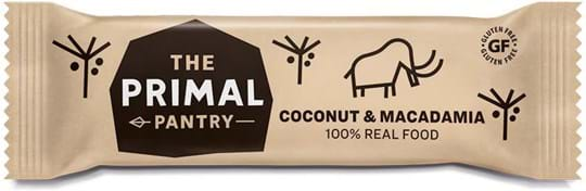 The Primal Pantry Coconut & Macadamia Bar. 100% REAL FOOD ingredients.
