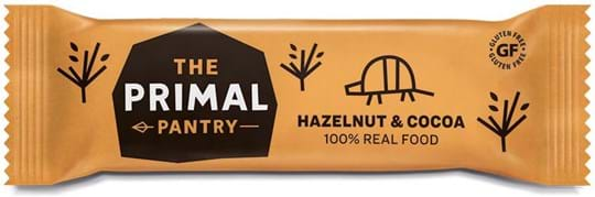 The Primal Pantry Hazelnut & Cocoa Bar. 100% REAL FOOD ingredients.
