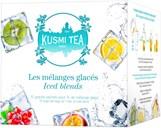 Sortiment af 15 store teposer med aromatiseret te og frugtte