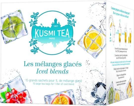 Kusmi Tea Black / Green / Fruit Tea flavoured green tea and fruit teas, large tea bags