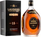 Lauder's 15 years old 40% 1L, Giftpack