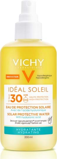 Vichy Ideal Soleil Solar Protective Water Hydratante SPF30 200 ml