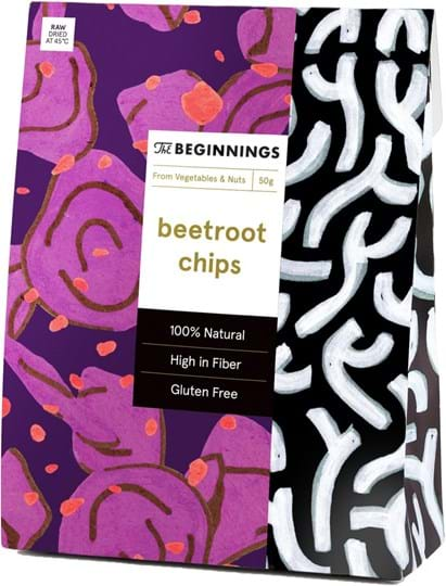 The Beginnings Beetroot Chips