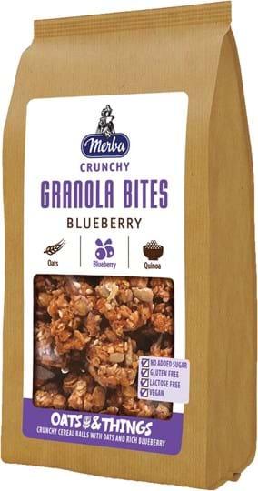 Merba Granola Bites with blueberry