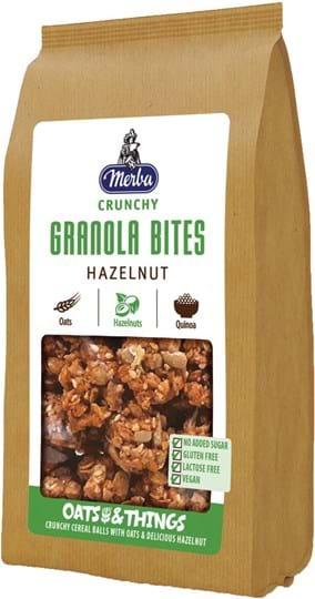 Merba Granola Bites with hazelnut