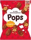 Cloetta Pops - majspops med mælkechokolade - knasende snack 210g