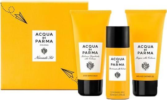 Acqua Di Parma Colonia Nomade Set cont.: After Shave Balm 75 ml + Bath and Shower Gel 75 ml + Deo Spray 75 ml (One Shot)