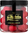 Michelsen Liquorice with chocolate, chili, and raspberry